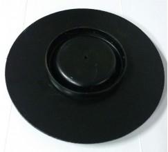 Кришка задньої пневморесори ЛАЗ (діаметр 130)